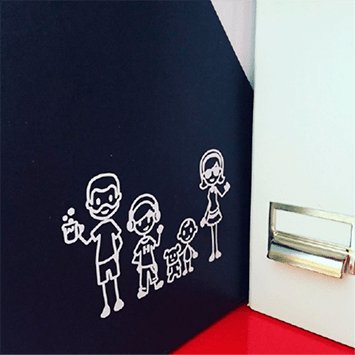 business family sticker